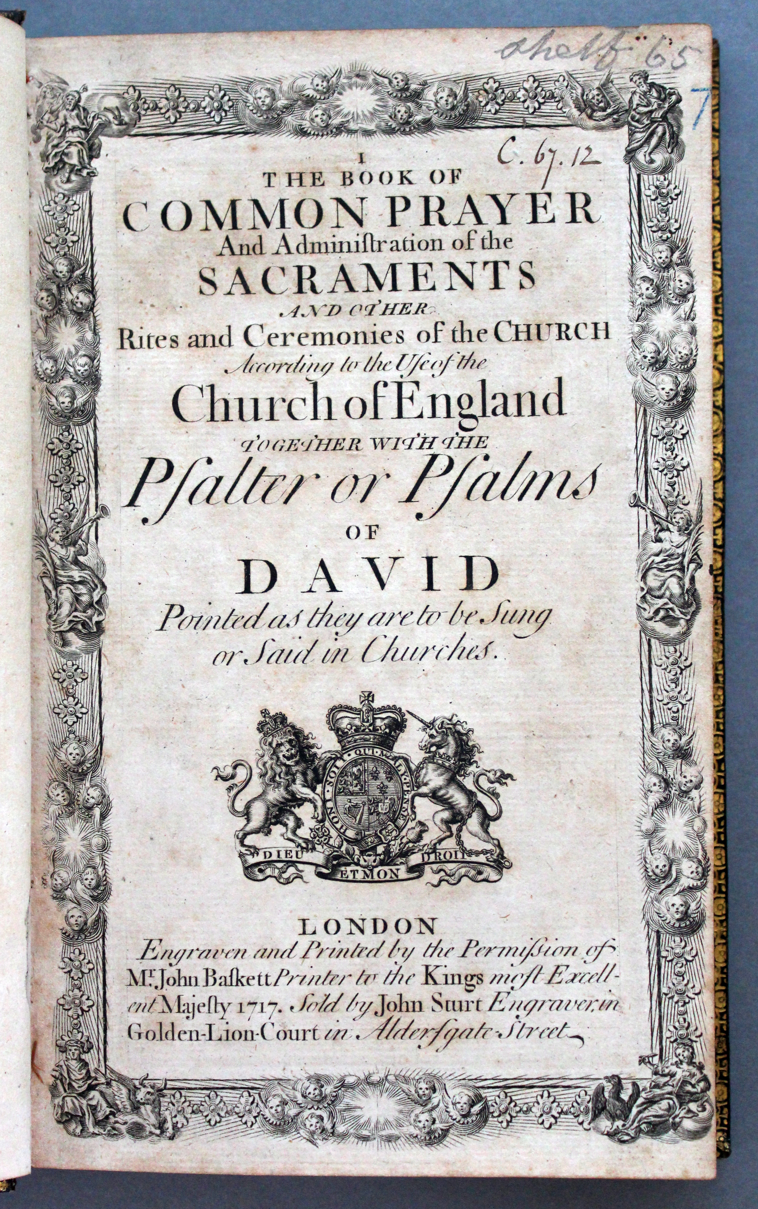 Thackeray.C.67.12_title page