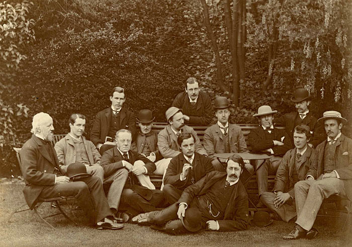 Members of the Apostles in Trinity Gardens (19th century)