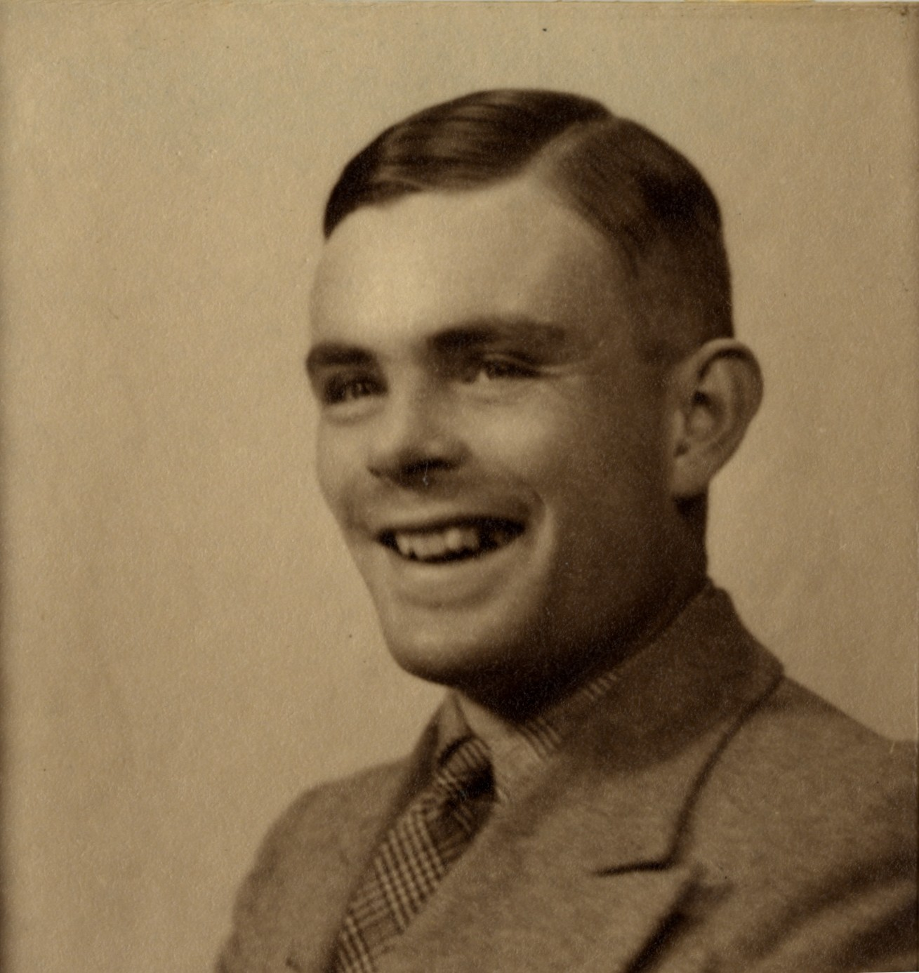 Alan Mathison Turing passport-style photograph [AMT/K/7/11]