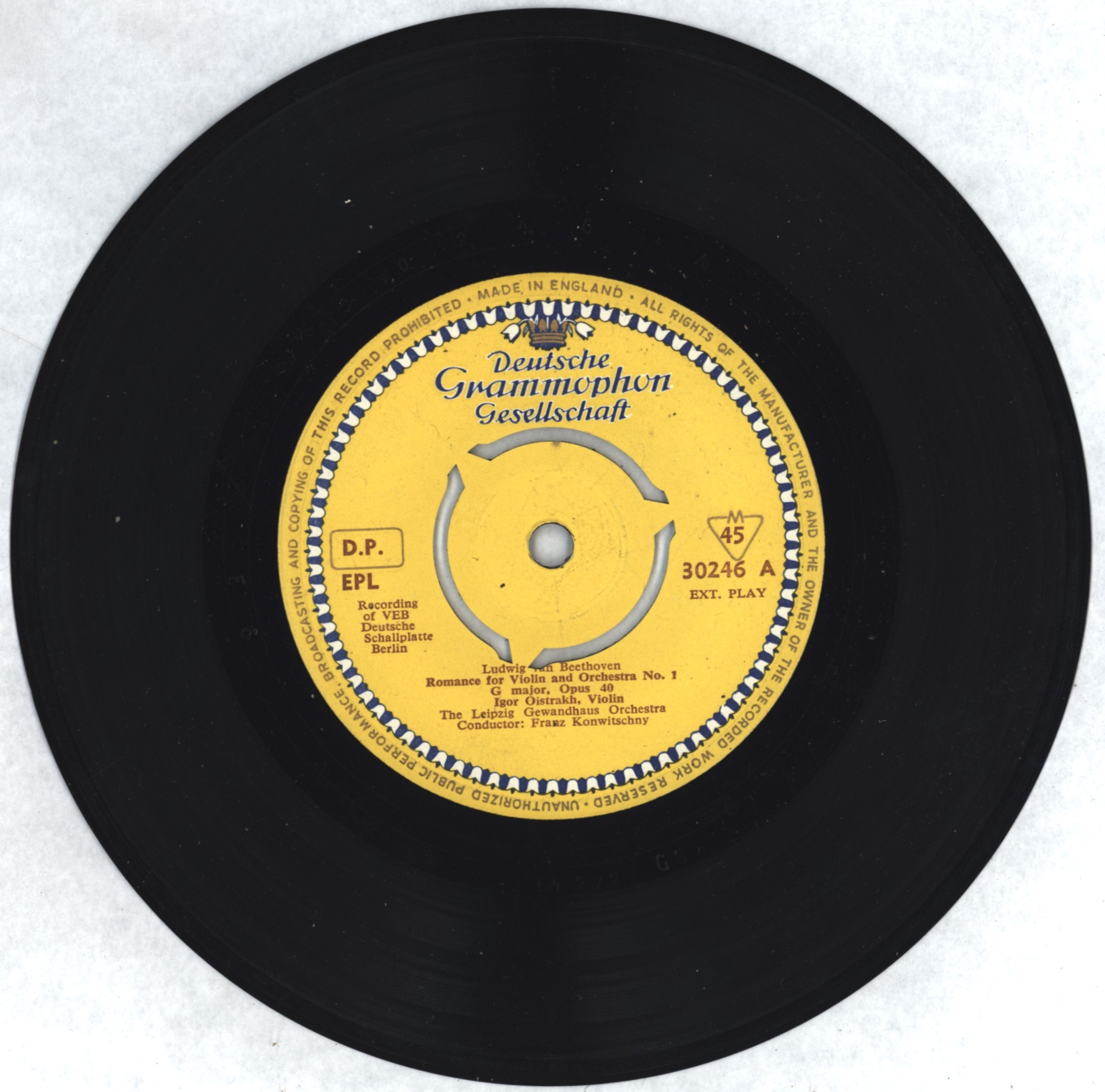 From Forster's LP collection