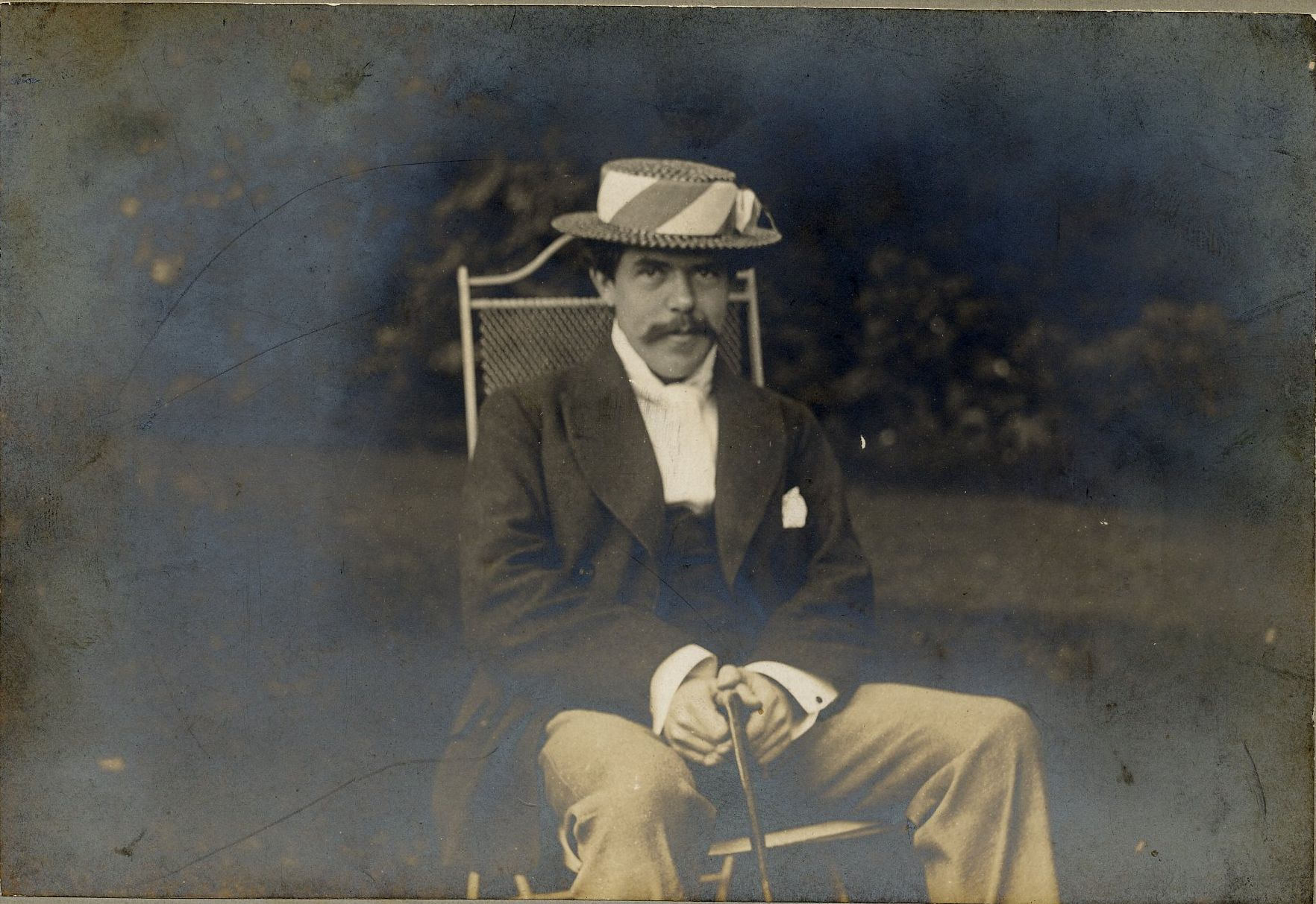 Nathaniel Wedd (1864-1940), a few years before Forster came up. [EMF/27/227]