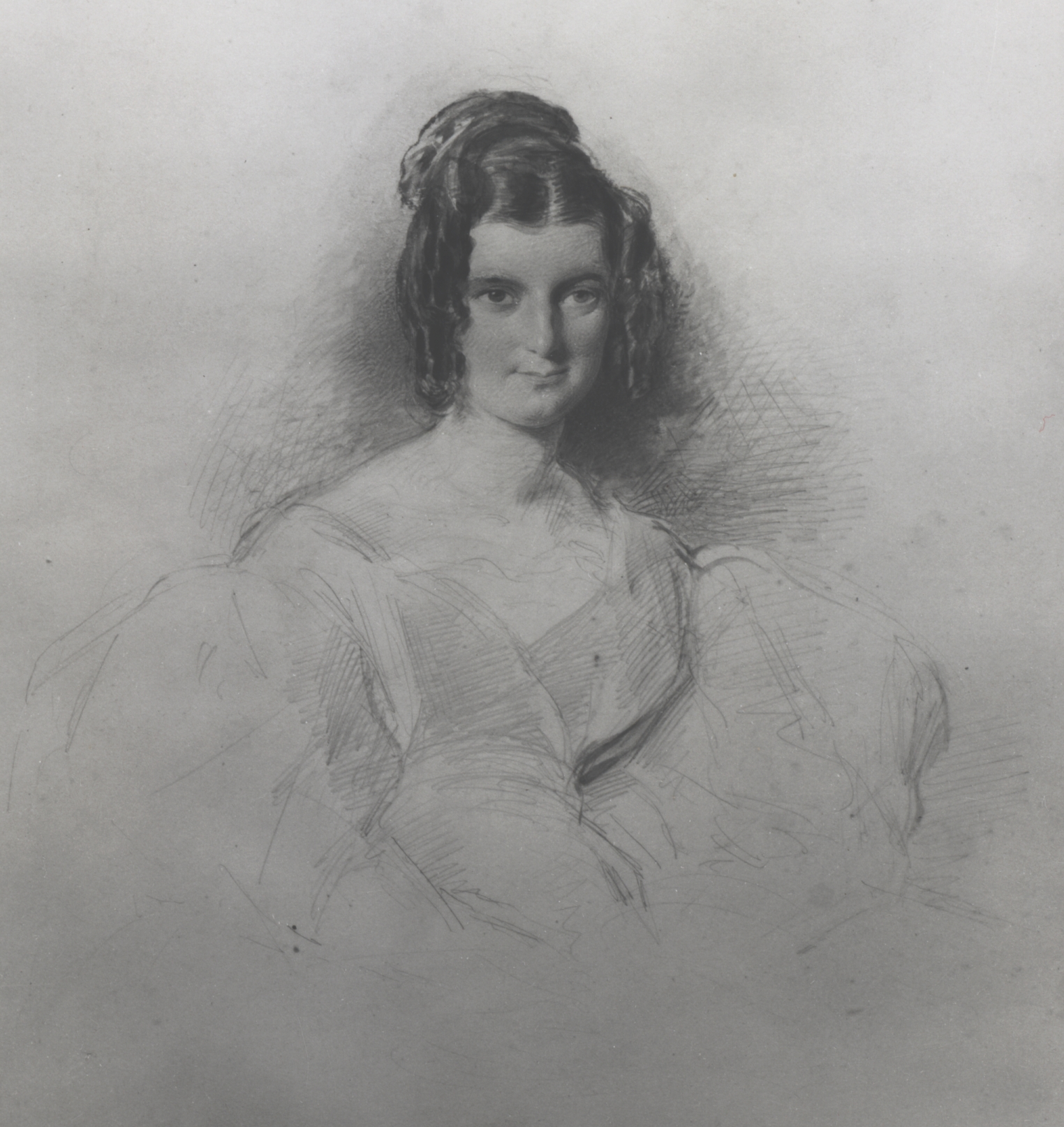 Forster's great-aunt Marianne Thornton in 1830 [EMF/27/947]