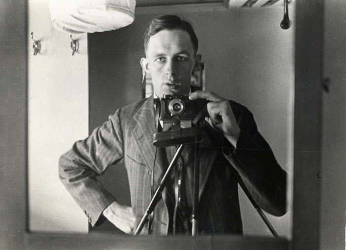Self-portrait (Leach, China, c.1934; ERL/4/1)
