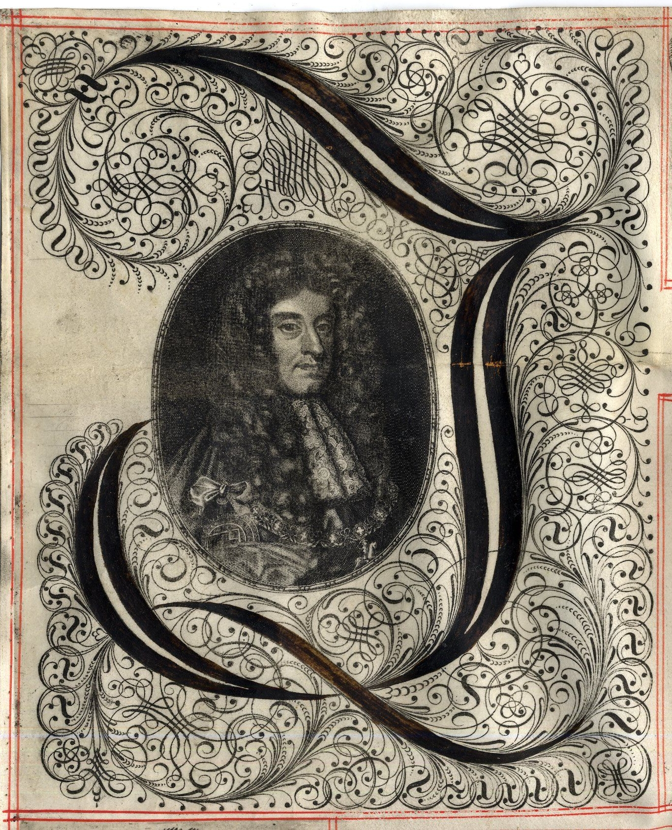 Charles II on a document concerning Eton Fellowships and King's College