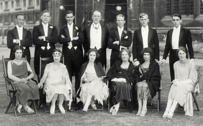 King's May Ball 1925 - the morning after