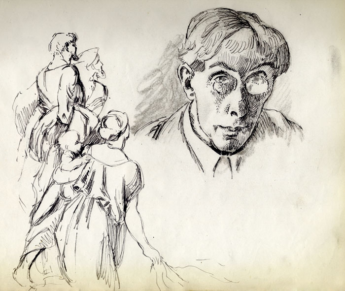 Roger Fry self-portrait (REF/4/8/12)
