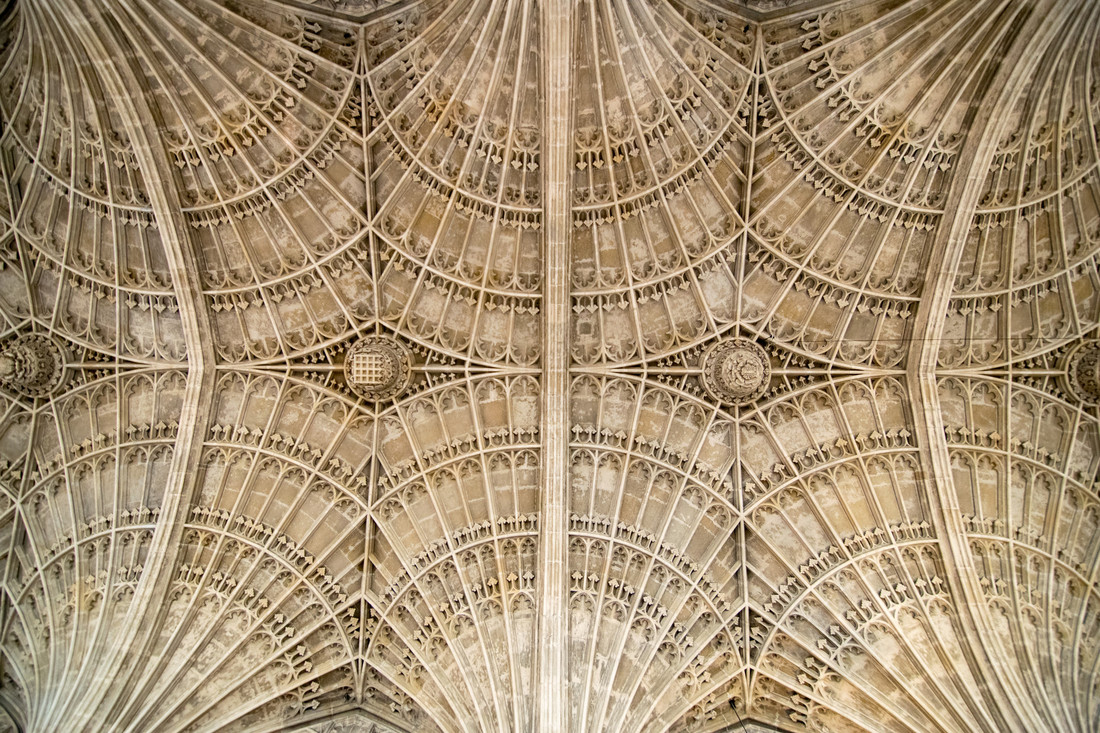 Fan Vaulting on the Chapel Ceiling