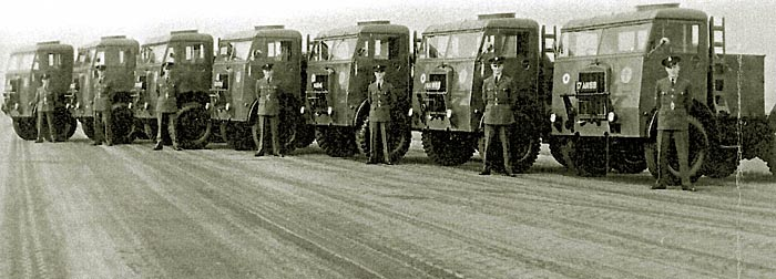 RAF soldiers and transport vehicles were billeted at King's during WWII