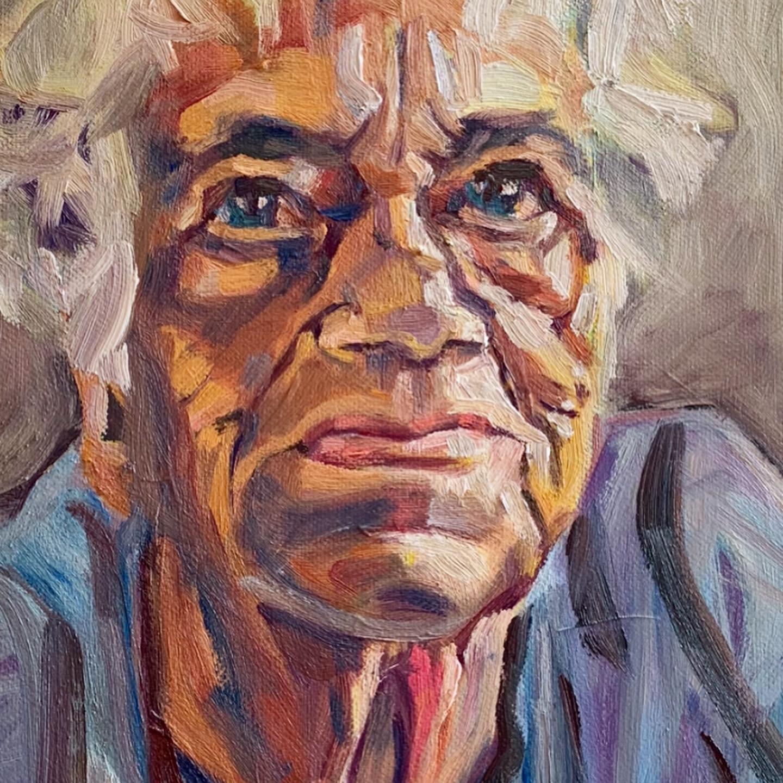 Portrait 1 by Mariadaria Ianni-Ravn