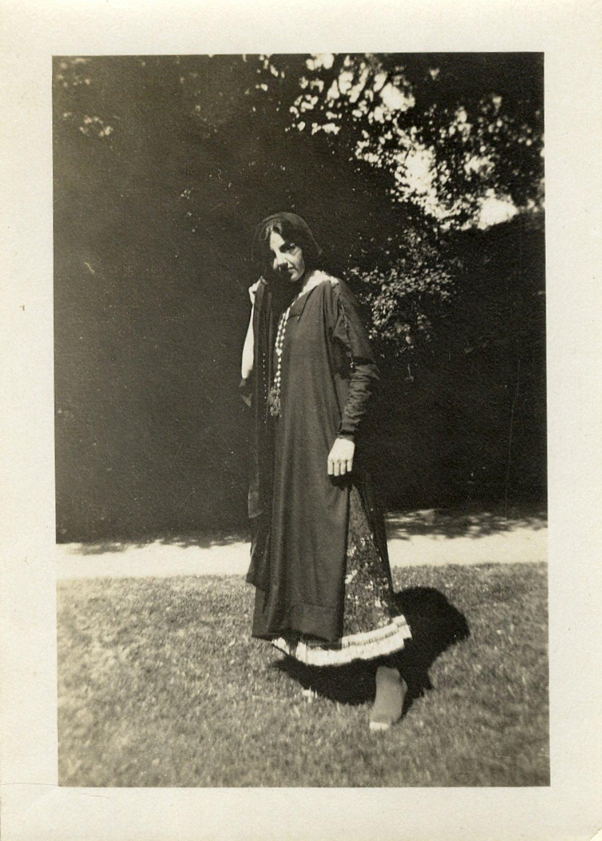 Ethel Pye as Lechery in Doctor Faustus. [RCB/Ph/59]