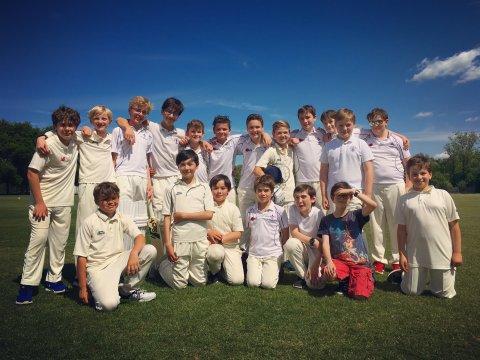 Chorister cricket team