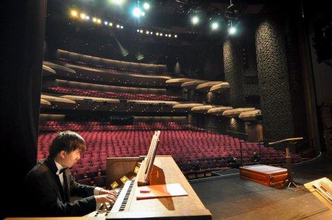 Organ Scholar on Tour
