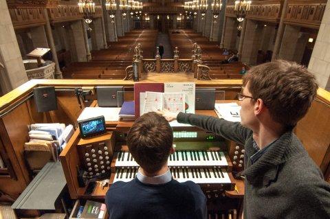 King's Organ Scholars on tour