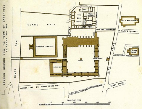 Henry VII's design for the College (1447-1449)