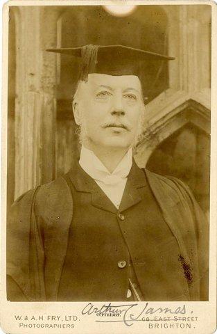 Arthur Coleridge James, KC Fellow 1860