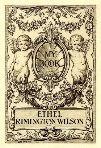 Bookplate of Ethel Rimington Wilson (c. 1905)