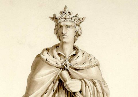 EH Baily's design for a monument to Henry VI (1849-50)