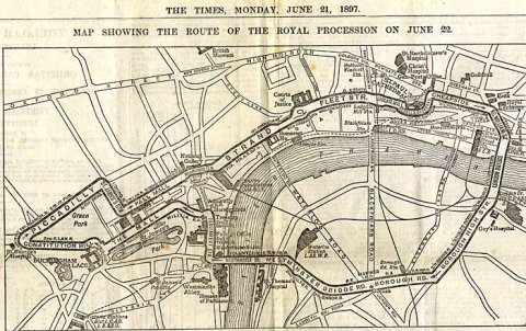 Diamond Jubilee Procession (June 1897)