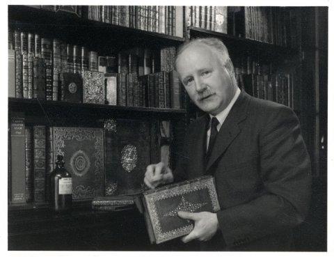 Alan Noel Latimer (Tim) Munby, taken by AC Barrington Brown (Coll Photo 329)