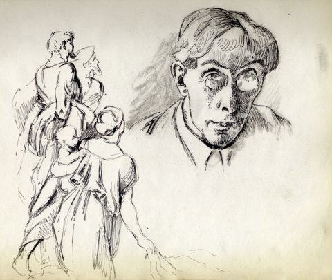 Roger Fry self-portrait (REF/4/8/12)