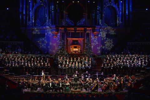 Performing at the Royal Albert Hall