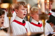 King's choristers singing