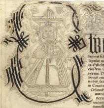 Illumination of Queen Elizabeth I (SAC/1)