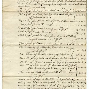 Bill for Masons work image