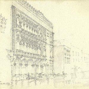 Ca d'Oro, Venice (April 1874)