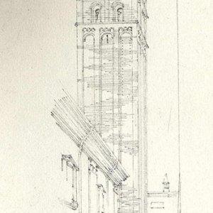 The Old Town near San Pietro, Bologna (28 April 1874)