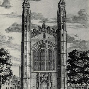 The west end of the Chapel (c.1690-1725)