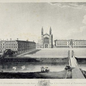 King's College and Clare Hall (1797)