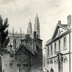 The north-west corner of the old court (1815)