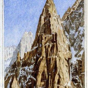 Aiguille du Peigne, Chamonix (France)