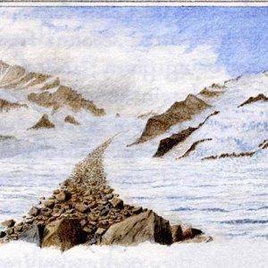 Aletsch Glacier, Bernese Alps (Switzerland)