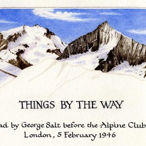 Title page from Salt's illustrated Alpine Lecture