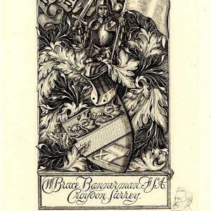 WB Bannerman's bookplate