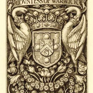 The Countess of Warwick's bookplate