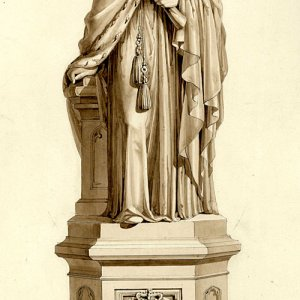 EH Baily's monument to Henry VI