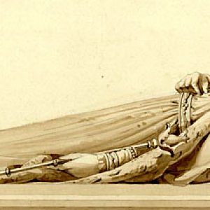 Henry VI reclining by EH Baily
