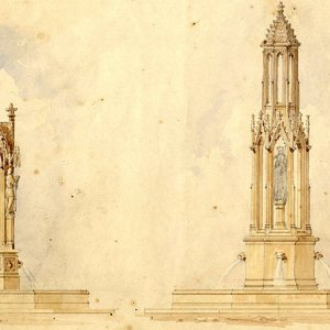 Henning's two proposals for a fountain