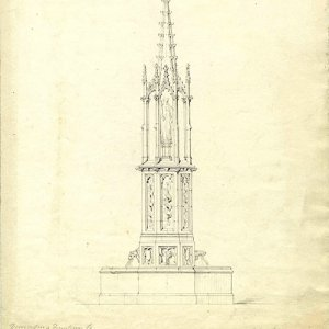 Design for a fountain by J Henning)