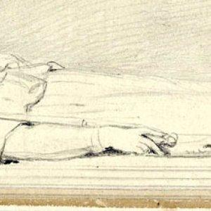 Henry VI reclining by J Henning