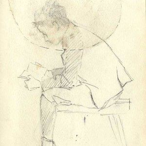 Sketch of JW Cole