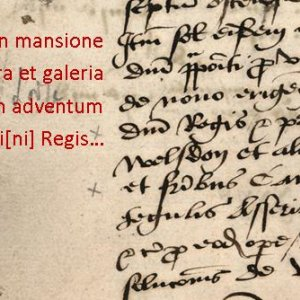 Accounts record of the creation in 1536-37 of one large room and a gallery in part of the Lodge, and repairs to the rest of the Lodge 'against the king's arrival'. (KCAR/4/1/1/11 reparaciones 1536-7)