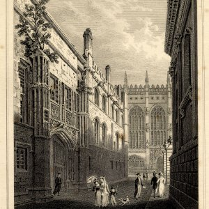 The suitably grand entrance to Old Court. (Storer)