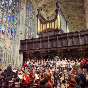 Performing with the Britten Sinfonia and BBC Singers (2019)