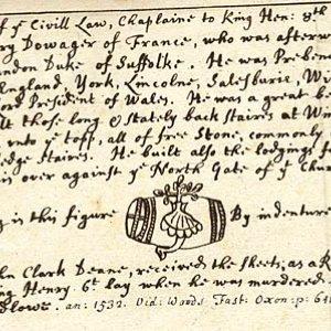 James Denton, Chaplain to Henry VIII