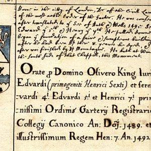 Oliver King, Secretary to three monarchs