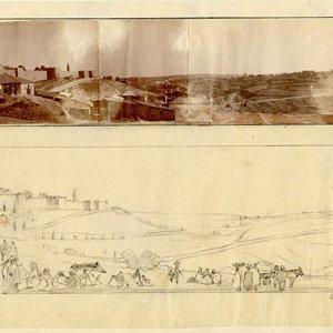 The Jaffa Gate looking towards Bethlehem by CRA.[c.1920]